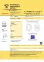 Oval Cut 1.00ct IGI Certified Diamond CVD G SI1 Lab Grown Type2A