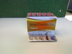 Naproxen Sodium 250mg   Domperidone 10mg Tablets (Naplon-DH)
