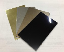 Laser Engravable Aluminium Sheets
