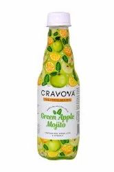 Cravova Green Apple Mojito Carbonated Drink, Packaging Size: 300ml, Packaging Type: Carton