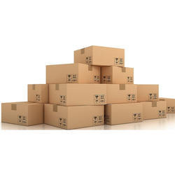 Brown Rectangular Corrugated Packaging Box, Thickness: 7-9 mm, Ply: 3