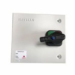 Three Phase Havells Changeover Switch for Panel