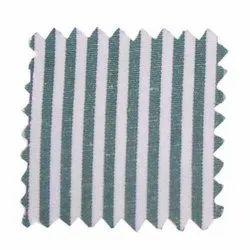 Cotton Striped Shirting Fabric, For Shirts, Machine wash