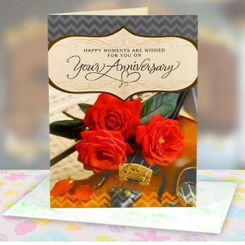 Warm anniversary wishes greeting card at rs 99 piece warm anniversary wishes greeting card m4hsunfo