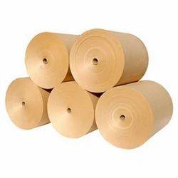 Brown Plain Kraft Paper Roll, 100 - 250