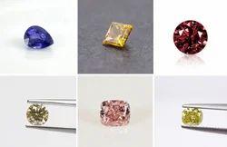 All Colour Polished  CVD Diamond
