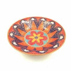 Multicolor Brass Minakari Bowl Assorted Home Decor L9