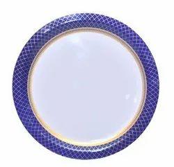 Blue Saraswati Sonata Melamine Plate