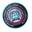 Round School Uniform Label