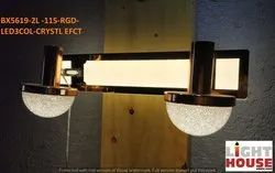 Modern/Contemporary Bell BX5619-2L RGD Mirror - Dressing- Photo Frame - Basin Lamp, For Home