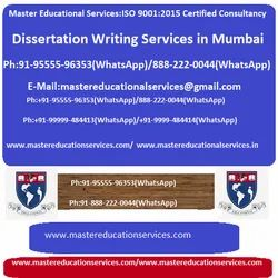 Dissertation Writing Services in Mumbai