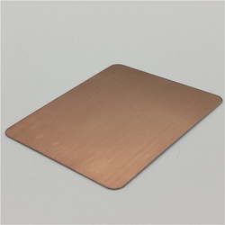 Stainless Steel Hairline Decorative Sheets