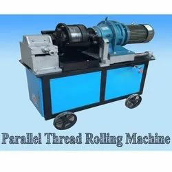 TMT Rebar Threading Machine