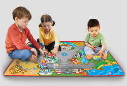 Multicolor Toy Figures Playset Game