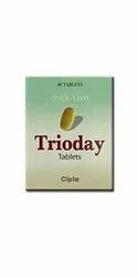 Trioday Efavirenz, Tenofovir Disoproxil Fumarate & Lamivudine Tablets