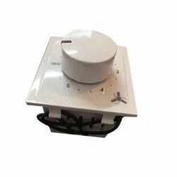 Plastic White Elivinet Fan Regulator