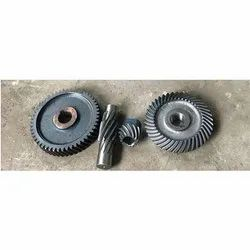 KIC Beval Spiral Bevel Gear With Crown Pinion, Packaging Type: Wooden Box, 2