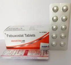 Avunu Febuxostat 40 mg Tablet, Packaging Type: Alu Alu