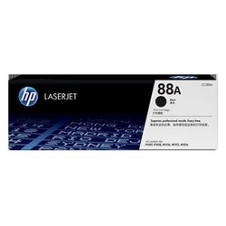 HP 88A Black Toner Cartridge CC388A