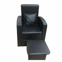 Black Manicure Salon Chair