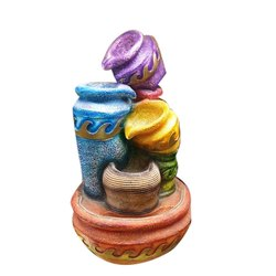 4 Matka Water Colourfull Fountain