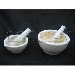 Porcelain Pestle And Mortar