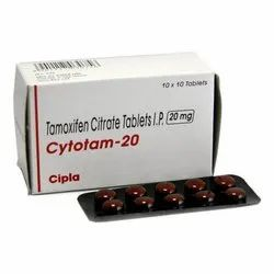 Tamoxifen Citrate Tablets IP 20 mg