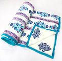 Hand Block Printed Cotton Quilts
