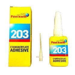 Liquid Fevikwik 203 Cyanoacrylate Adhesive, Packaging Size: 200 Ml