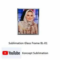 Sublimation Glass Frame BL 01