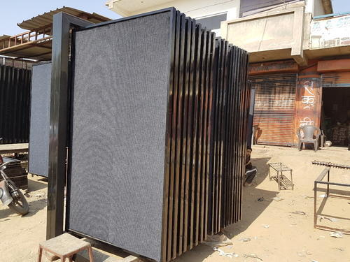 Black Tiles Display Stand Size 7 X 4 Feet Rs 94000 Set