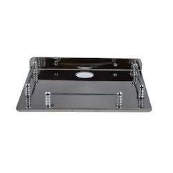 Stainless Steel Set-Top Box Stand