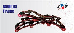 4 x 90 X3 Inline Skate Frame