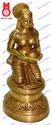 Deeplaxmi Sitting On Oval Base Statues