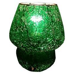 Decorative Glass Crackle Lamp