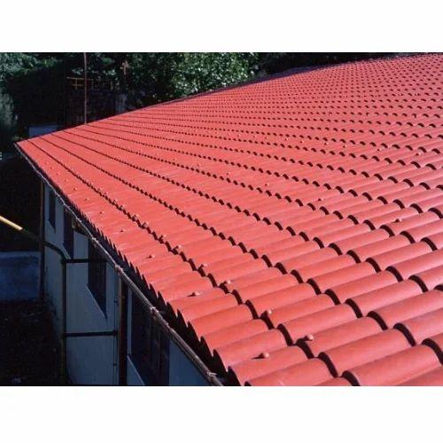 Tile Roof Sheet जंगरोधी इस्पात से बना टाइल छत शीट At Rs