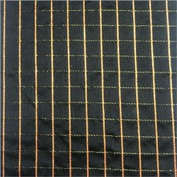 Printed Check Square Fabric, GSM: 100-150