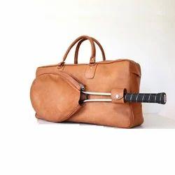 Adel International Leather Tennis Bags