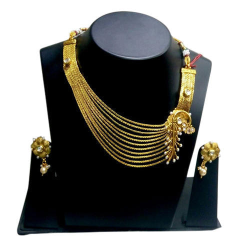 a026338c0a9428 Fancy Party Wear Necklace Set at Rs 825 /piece   नेकलेस सेट ...