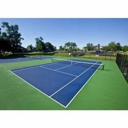 Soft Step Tennis Court Synthetic Flooring
