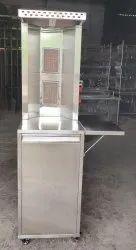 VAPA SS Cylinder Stand Shawarma Machine