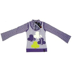 Cotton Party Wear Kids Long Sleeves Top, Small, Medium and Large