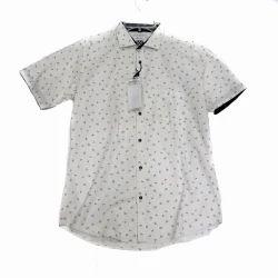 Men Printed Half Sleeves Shirt