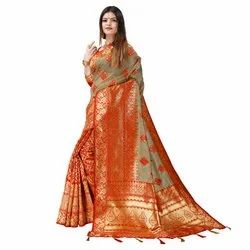 1591 Jacquard Silk Saree