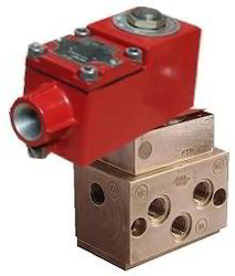 Flameproof 5/2 Way Valve