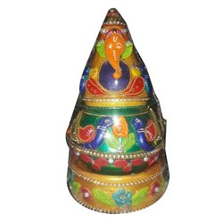 Stainless Steel Decorative Pooja Kalash, For Worship