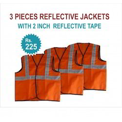 3 Pieces Reflective Jackets 2 Reflective Tape Jackets
