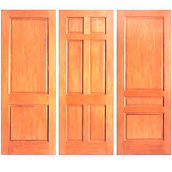 Pinewood Flush Door
