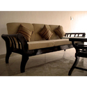 Natural Full Size Wooden Sofa