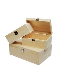Paras Enterperises Wood Wooden Box, for Packaging